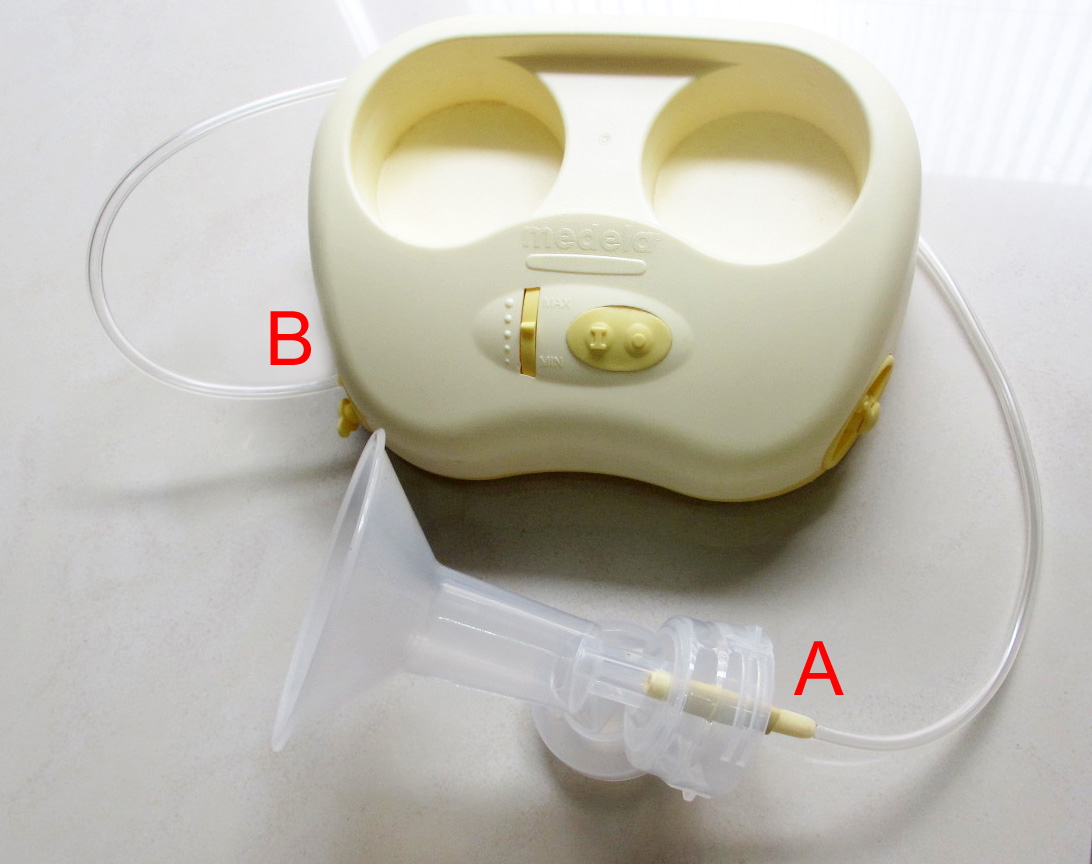 medela double ease tubing breastshield copy